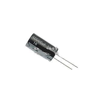 קבלים אלקטרוליטיים מאלומיניום 16v 25v 50v 63v 80v 100v 10000uf
