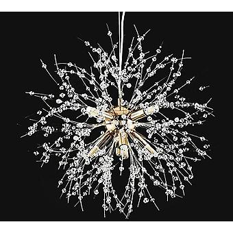 Chandelier Crystal Hanging Led Lighting