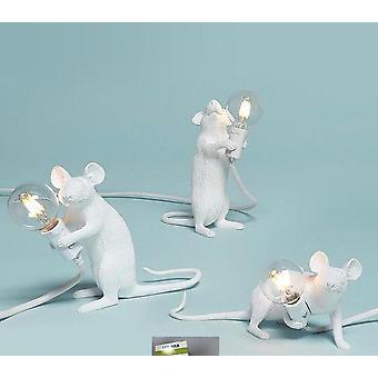 Postmoderne Hars Animal Rat Muis Tafellamp