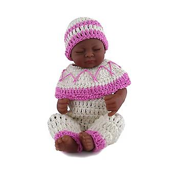 28cm Handmade Realsitic Newborn Baby Girl Dolls