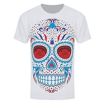 Grindstore Mens Sugar Skull Sublimation T-Shirt