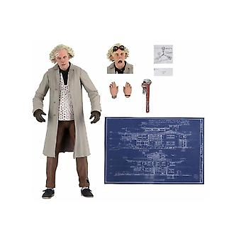 NECA Back To The Future Ultimate Doc Brown 7 Inch Scale Action Figure