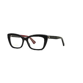 Gucci GG0165O 003 Musta-Punaiset Lasit