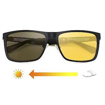 Night Vision Ochelari Polarized Anti-glare Lens Ochelari de soare galben bărbați Ochelari de protecție