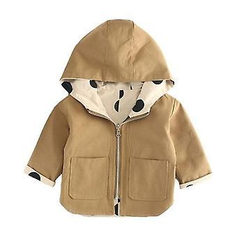 Vauvan takki takki taapero kuluu molemmilla puolella Windbreak Päällysvaatteet