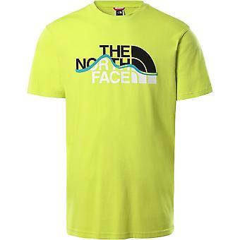 Le t-shirt North Face Mountain Line T0A3G2JE3 universal men
