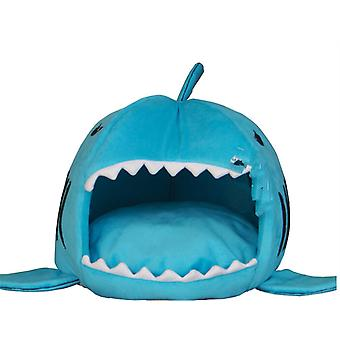 Shark Mouth Pet House, Cat And Dog Bed