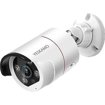 PoE IP Kamera 3MP Auenkamera mit Flutlicht fr Wokex berwachungskamera Set WiFi mit 2-Wege-Audio, AI