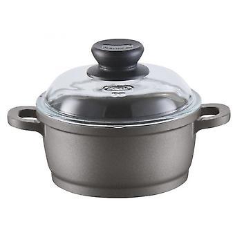 kasserolle Bonanza Induktion 16 cm Aluminium schwarz