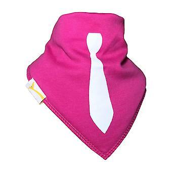 Fet rosa slips bandana haklapp