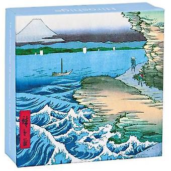 Hiroshige Mini Fliptop Notecard Box