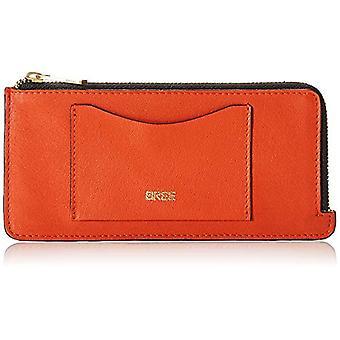 Bree 414153, Orange Woman Credit Card Port (Pumpkin 121) 8x1.5x17.5 cm (B x H x T)