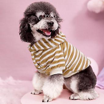 Herbst und Winter Haustier Kleidung Katze Mantel Pelz kaltfeste Kleidung