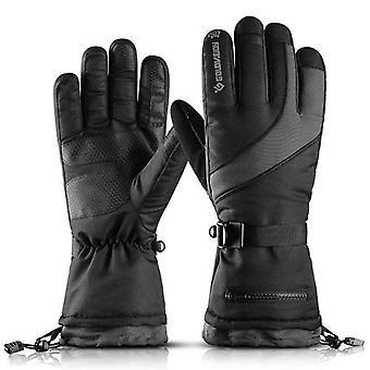 冬の暖かい手袋スキー手袋男性女性防風雪手袋スキーサイクリングクライミングのための耐水性スポーツグローブ