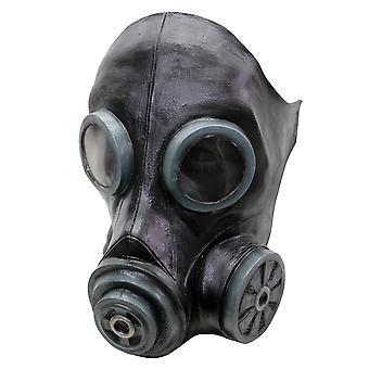 Fumée noire chimique des années 1940 WWII Mens Costume Masque Latex masque à gaz