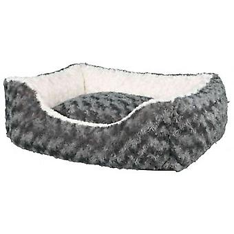Trixder Kaline Square Bed Cream and Grey (Dogs , Bedding , Beds)