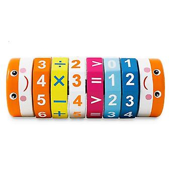 Montessori Kids Preschool Educational Toys For Children DIY Add Subtract Multiply Dividel|Math Toys