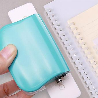Holes Puncher, Paper Notebook Stationery, Diy Handheld Tool For Students,