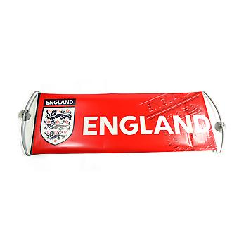 Angleterre Football Football Sports Supporter Fanbana Fan Bannière Bleue