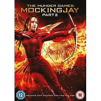 The Hunger Games Mockingjay Part 2 DVD