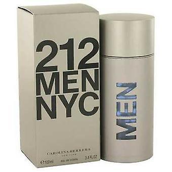 212 Tekijä Carolina Herrera Eau De Toilette Spray (new Packaging) 3.4 Oz (miehet)