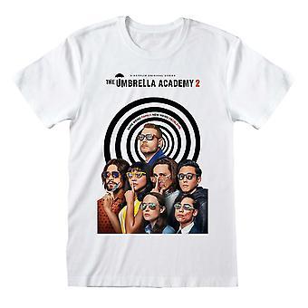 The Umbrella Academy Unisex Adult Season 2 Poster T-Shirt