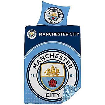 Manchester City FC Single Duvet Set LC