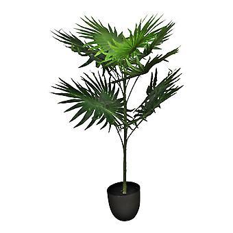 Keinotekoinen tuuletin palmu 10 lehteä, 100cm