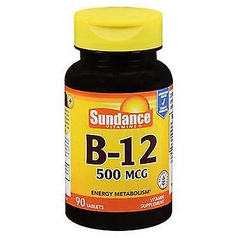 Sundance Sundance B-12 Tablets, 500 mcg, 90 Tabs