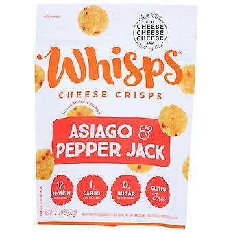 Whisps Chs Asiago Pepprjck Whisp, Koffer van 12 X 2.12 Oz