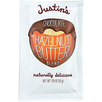 Justins Nut Butter هرتزلوت Sqz Ntr, حالة 10 X 1.15 Oz