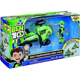 Ben 10 BEN48000 Flair Ben's Transforming Omi-Cycle