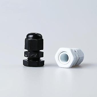 новый m12-10pcs-белый высокое качество водонепроницаемый нейлон пластиковый кабельный прокладка sm35692