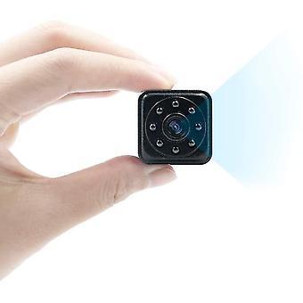Telecamera spia, mini telecamera 1080P HD Telecamera nascosta Mini telecamera di sicurezza Rilevamento del movimento IR Visione notturna