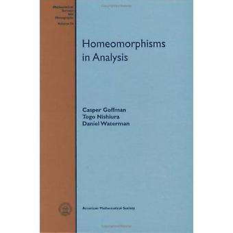Homeomorphisms In Analysis - 9780821806142 Book
