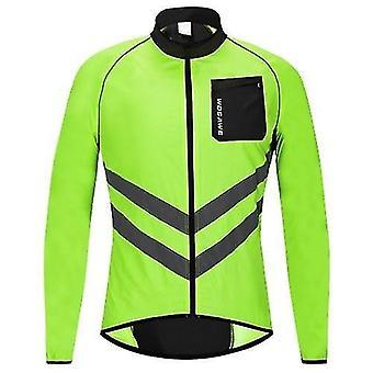 Cyklistické cyklistické dresy pánské cyklistické bundy větruodolné reflexní cyklistické dresy s dlouhým rukávem pro jízdu na běžeckém běhu