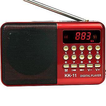 Radio altoparlante radio digitale mini radio fm usb tf mp3 lettore musicale antenna telescopica