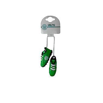 Celtic FC Official Boots Hanging Car Charm
