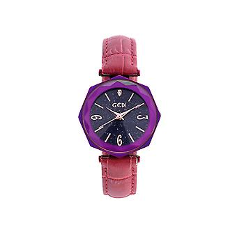 9493# Starry Sky Watch Fashion Ladies Big Dial Trendy Hand Watch Colorful Multicolor Wild Waterproof