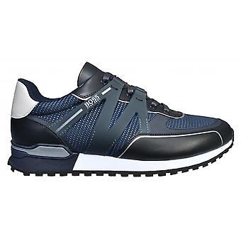 Hugo Boss Footwear Hugo Boss Men's Dark Blue Parkour-L Runn Txmx Trainers