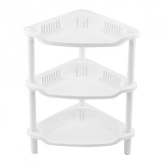 Mini Bathroom Shelf Storage Three Layer Plastic Tool Shampoo Holder Rack
