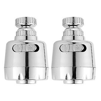 Sortie d'eau de buse en métal- Prolongeur de robinet d'évier de filtre d'économie