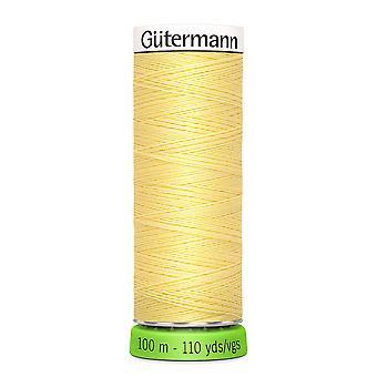 Gutermann 100% genanvendt polyester sy-alle tråd 100m hånd og maskine - 578