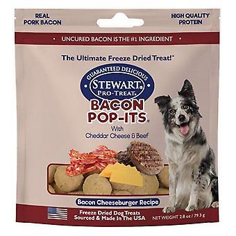 Stewart Bacon Pop-Its Freeze Cheeseburger Recipe Dried Treat - 2.8 oz