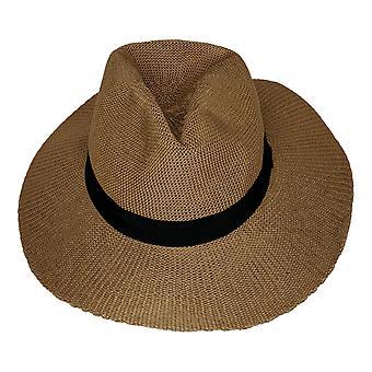 Carlos By Carlos Santana Panama Hat Brown 742842