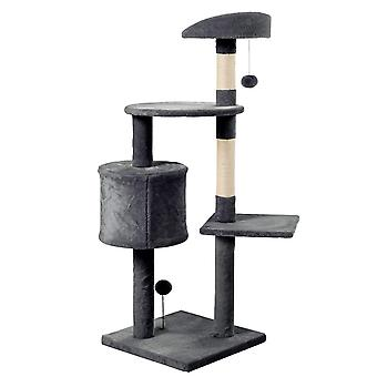 3 Tier Kitten Cat Tree With Scratching Post And Climbing Tower Activity Centre