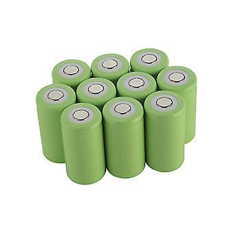 10pcs C 5000mah 1.2v Ni-mh Power Batteriezelle wiederaufladbar 20a 50x26mm Anwenden auf Elektrowerkzeuge Elektrische Bohrmaschine Elektrische Hammer Staubsauger Sweepe