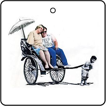Banksy Feed der Welt-Auto-Lufterfrischer