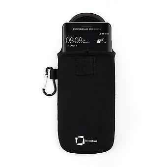 InventCase neopreeni suojaava pussi tapauksessa Huawei Mate 9 Porsche Design - musta