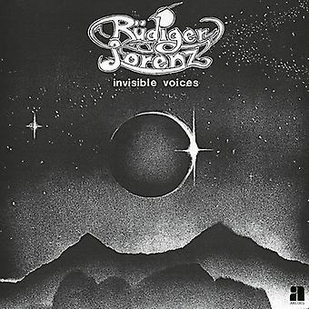 ルディガー ・ ローレンツ - 目に見えない声 [CD] USA 輸入